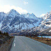 road in Lyngen