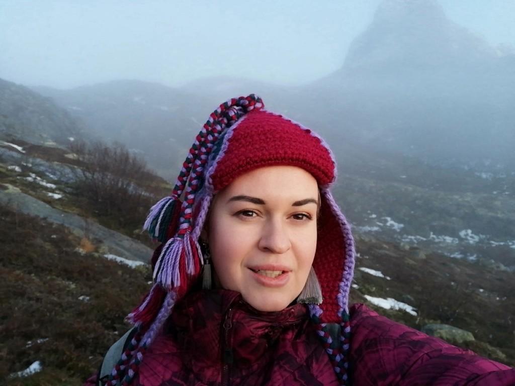 катя и гора
